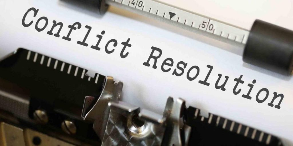 Small Steps to Conflict Resolution
